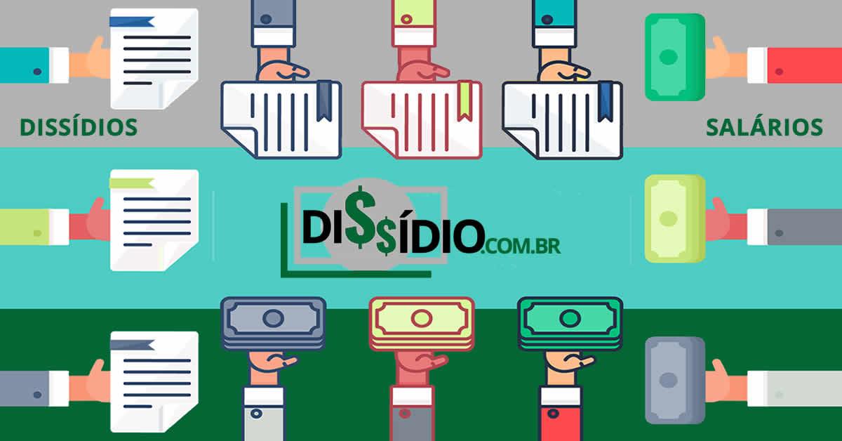 Dissídio salarrial de Baleiro (exclusive no Comércio Ambulante) CBO 141410 salário